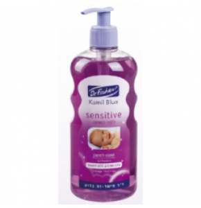 """קמיל בלו לפני השינה שמפו לתינוק Dr. Fischer Kamil Blue Sensetive Shampoo ד""""ר פישר"""