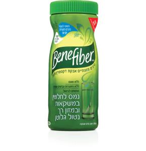 בנפייבר | אבקת סיבים תזונתיים לשתייה 261 גרם
