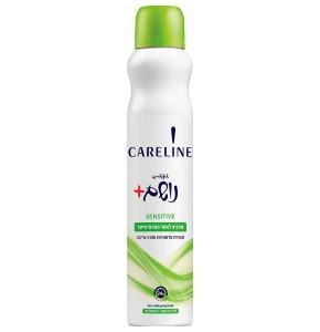 קרליין דאודורנט ספריי סנסיטיב ירוק להרגעת העור | CARELINE SENSITIVE Deodorant Spray