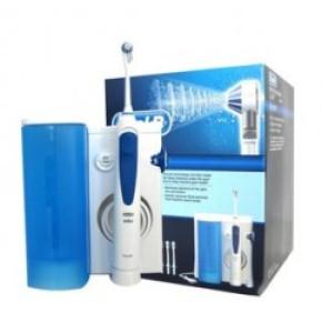 אוקסיג'ט מערכת שטיפת פה חשמלית בלחץ מים אוראל בי Oral B Oxyjet MD20