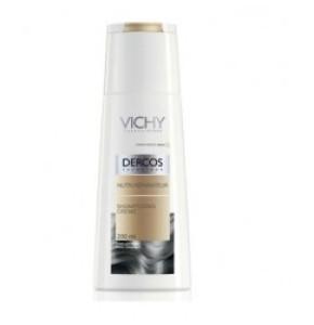 שמפו קרם טיפולי נוטרי דרקוס להזנת שיער יבש ופגום | VICHY Dercos Nutri Shampoo
