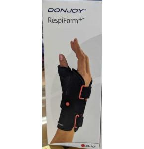 חבק שורש כף היד עם סד + אגודל DONJOY Wrist Splint with Thumb