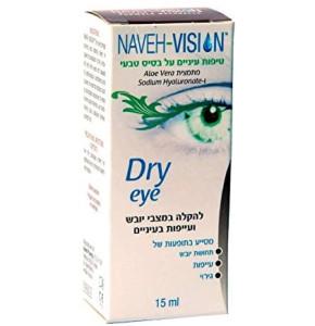 נווה ויז'ן טיפות עיניים טבעיות | Naveh Vision Dry Eye