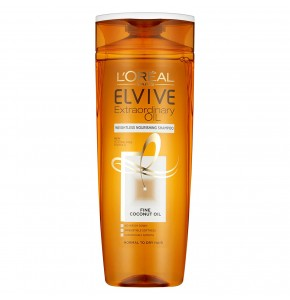 שמפו שמן קוקוס להזנה - L'Oreal Elvive EXTRAORDINARY OIL לוריאל אלביב