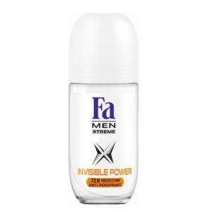פה דאודורנט רול און ללא סימנים לגבר | Fa XTREME Invisible Power Roll-On Deodorant MEN