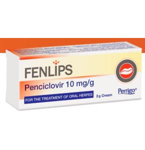 פנליפס - קרם לטיפול בהרפס השפתיים