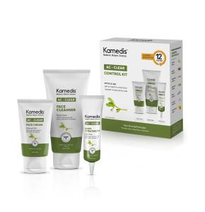 קיט רב תכליתי לעור שמן אק קליר קמדיס AC CLEAR CONTROL KIT