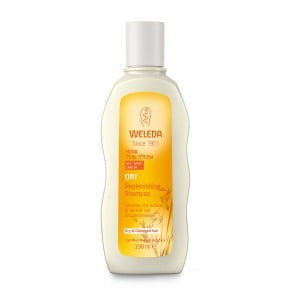 שמפו שיבולת שועל לשיקום והזנה של שיער יבש ופגום WELEDA