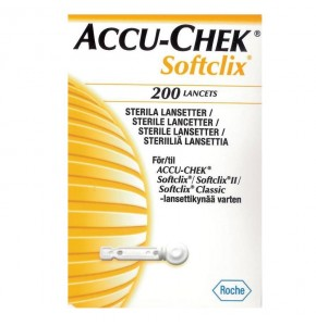 ACCU-CHEK PERFORMA SOFTCLIX דוקרנים למדידת רמת הסוכר - 200 דוקרנים