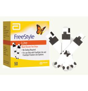 FREESTYLE LITE סטריפים למדידת רמת הסוכר - 50 סטריפים