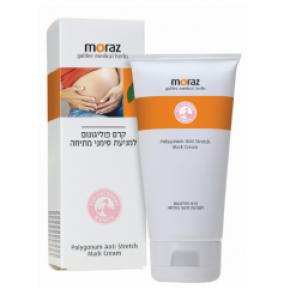 קרם פוליגונום למניעת סימני מתיחה MORAZ Polygonum Anti Stretch Mark Cream מורז
