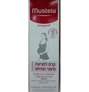 קרם סימני מתיחה להריון ודיאטה מוסטלה   MUSTELA Stretch Marks Double Action