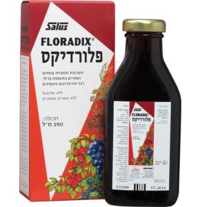 פלורדיקס ברזל טבעי נוזלי סירופ בתוספת ויטמינים מתמציות צמחים