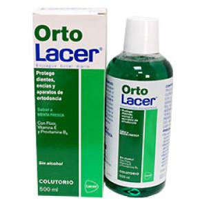 ORTO LACER אורתו לאסר - שטיפת פה בטעם מנטה עדין - לטיפול האורתודונטי וללא אלכוהול