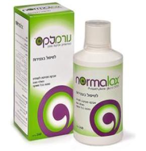 נורמלקס | לטיפול בעצירות - אבקה מסיסה לשתיה נטולת טעם