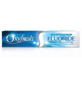 משחת שיניים אוקסיפרש אוקסיג'ן אבץ ופלואוריד | Oxyfresh Fluoride-Oxygen Toothpaste