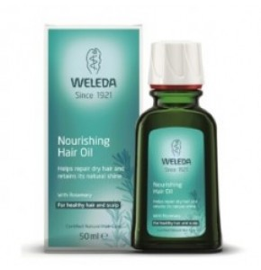 שמן הזנה לשיער WELEDA Nourishing Hair Oil וולדה