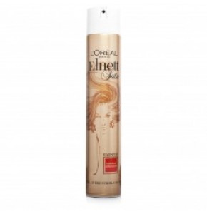 "Elnett אלנט ספריי לעיצוב השיער 400 מ""ל Elnett Normal Strength Hairspray L'Oreal לוריאל"