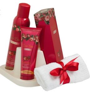 סט מתנה לאב ליין אדום   Hlavin Love Line Red Set חלאבין