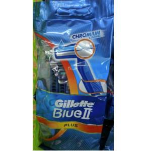 סכין גילוח חד פעמי לגבר ג'ילט Gillette BLUE 2 PLUS מארז של 5 סכינים