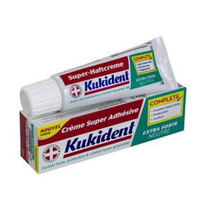 קוקידנט משחה להצמדת שיניים תותבות Kukident