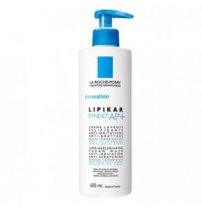 """ליפיקאר סינדט ג'ל רחצה טבעי לעור אטופי, יבש מאוד ומגורה - 400 מ""""ל לה רוש פוזה"""