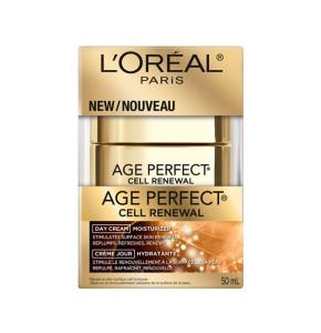 רנסנס קרם יום Age Perfect Renaissance Day Cream L'Oreal לוריאל אייג' פרפקט