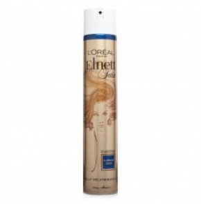 "Elnett אלנט ספריי חזק לעיצוב השיער 400 מ""ל Elnett Supreme Hold Hairspray L'Oreal לוריאל"