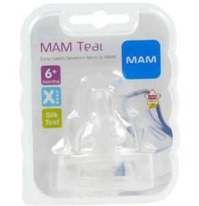 פטמות X למזון סמיך +6 חודשים מאמ | MAM Teat X