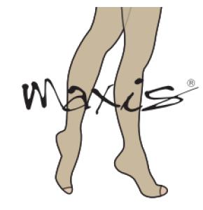 גרבי לחץ רפואיות MAXIS | גרביון AT אצבעות פתוחות | דרגת לחץ 2