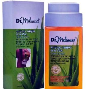 """שעווה טבעית רולר למיקרוגל עם אלוורה ד""""ר מלומד Dr. Melumad Natural Wax Roller"""