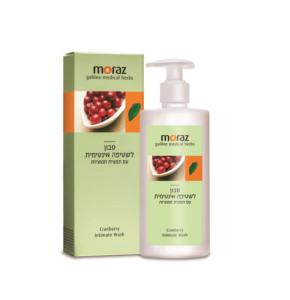 סבון לשטיפה אינטימית | עם תמצית חמוציות MORAZ Cranberry Intimate Wash