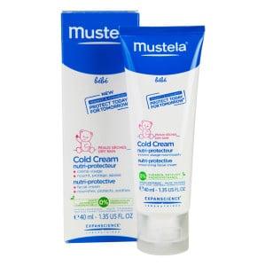 קולד קרם פנים לתינוקות לעור יבש במיוחד | Mustella Baby Cold Cream