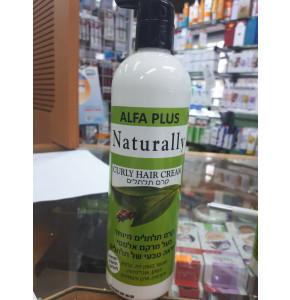 נטורלי קרם תלתלים Naturally Curly Hair Cream