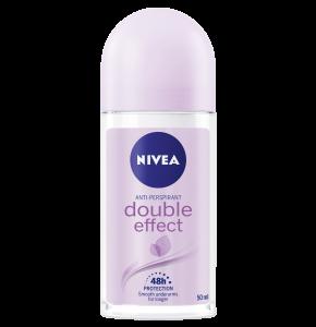 דאודורנט ניוואה רול און לאישה דאבל אפקט Deodorant Roll On DOUBLE EFFECT NIVEA