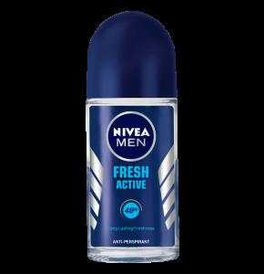 דאודורנט רול און לגבר Fresh Active Roll On Deodorant Nivea ניוואה