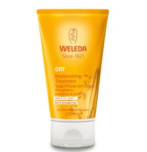 מסכת הזנה שיבולת שועל לשיער יבש או פגום WELEDA Oat Replenishing Treatment וולדה