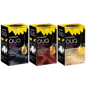 גרנייה אוליה צבע קבוע לשיער על בסיס שמנים Olia Oil Powered Permanent Haircolor