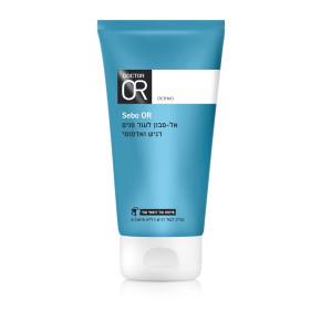 """סבו-עור אל-סבון לעור פנים רגיש ואדמומי ד""""ר עור להסרת איפור וניקוי Dr. OR Sebo Or"""