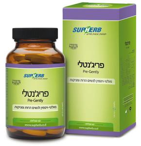 פריג'נטלי מולטי ויטמין לנשים הרות ומניקות פרנטל 60 טבליות סופהרב