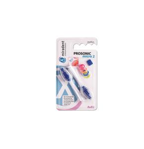 ראשים למברשת שיניים פרוסוניק מיקרו מירדנט - 2 יחידות