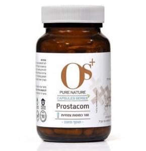 PROSTACOM פרוסטקום - 100 כמוסות צמחיות