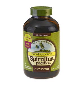 ספירולינה פסיפיקה אבקה ויטמינים ומינרלים מאצה כחולה 140 גרם | Spirulina Pacifica Jammoka