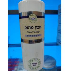 סבון מתוק | סבון פנים טבעי לעור רגיש עומר הגליל