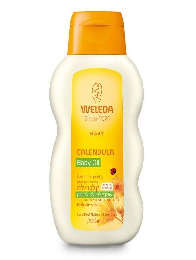 שמן קלנדולה לתינוק | WELEDA Baby Calendula Oil וולדה