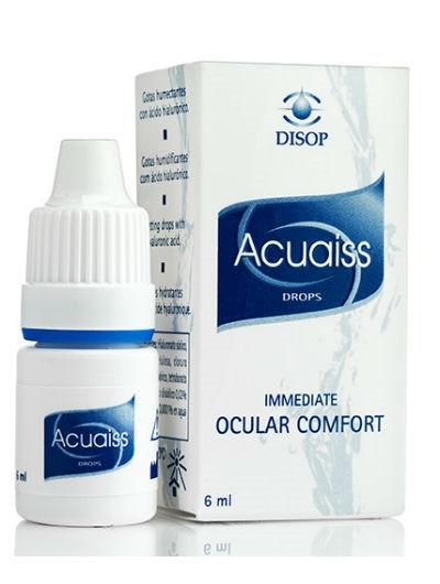 אקוויז טיפות עיניים להקלה מיידית ביובש | Acuaiss Eye Drops
