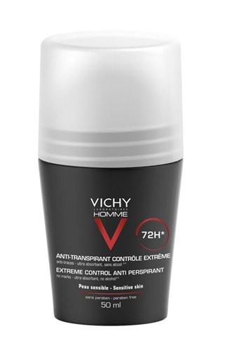 דאודורנט רון און לגבר 72 שעות אנטי פרספירנט | Vichy Homme 72H Anti Perspirant Deodorant וישי