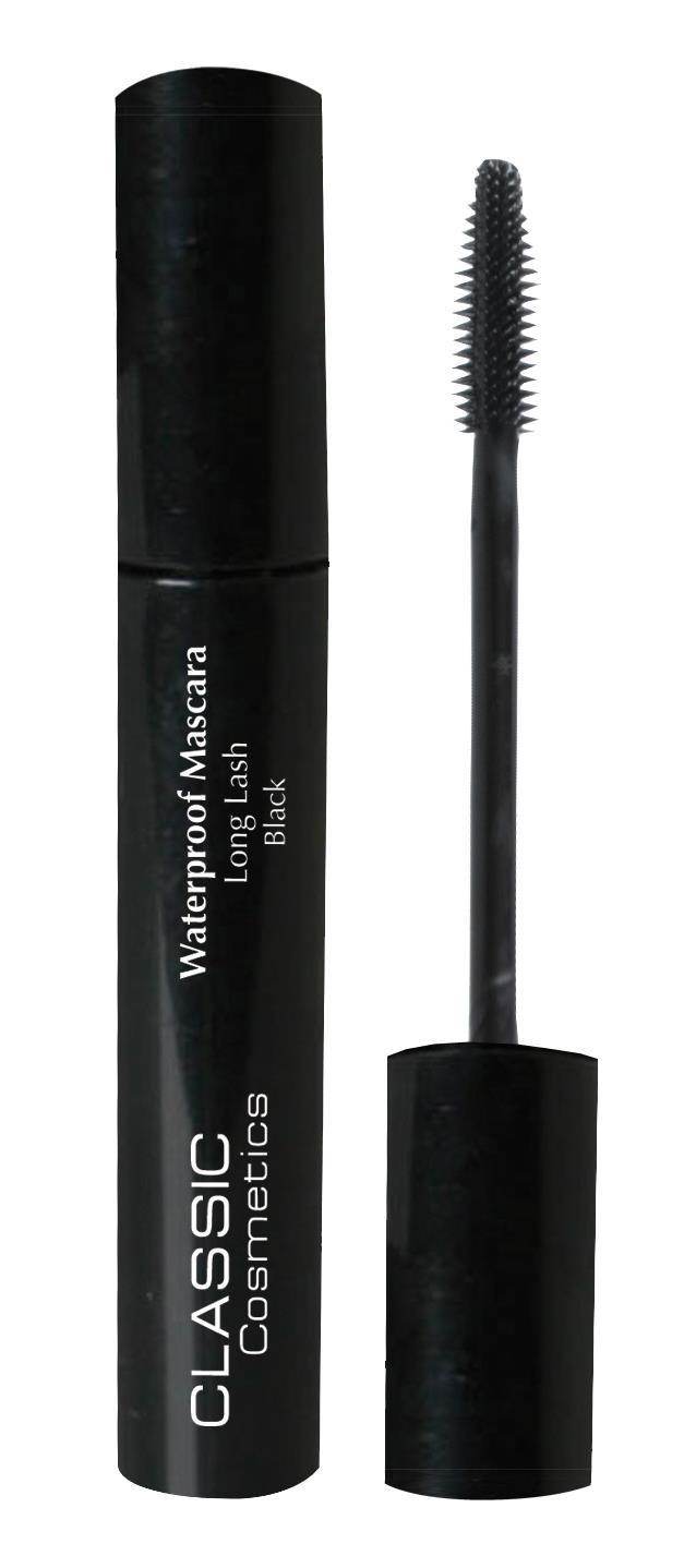 מסקרה עמידה במים מאריכה שחורה קלאסיק קוסמטיקס   Classic Cosmetics Mascara