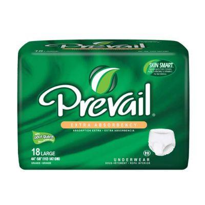 פריבייל 18 תחתונים סופגים למבוגרים במידה L   רביעייה במבצע   Prevail Underwear Extra Absorbency