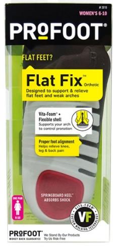 """מדרס מיוחד ל""""רגל שטוחה"""" FLAT FIX מבית PROFOOT"""